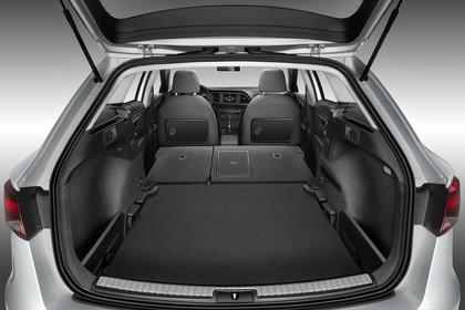SEAT Leon ST 5F Innenansicht Kofferraum Rücksitze umgeklappt