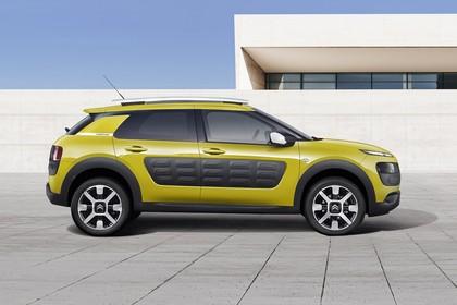 Citroën C4 Cactus Aussenansicht Seite statisch gelb