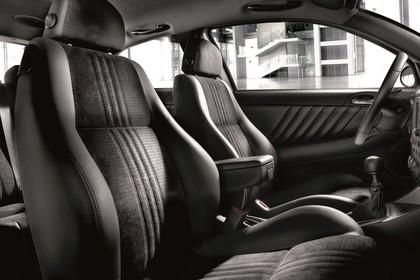 Alfa Romeo 147 Fünftürer 937 Innenansicht Vordersitze statisch schwarz