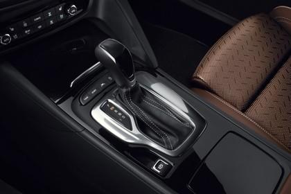 Opel Insignia B Grand Sport Innenansicht Detail Mittelkonsole statisch schwarz braun