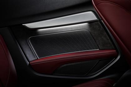 Audi A5 Cabriolet Innenansicht statisch Studio Detail Lautsprecher hinten links