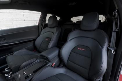 Kia Cee´d GT / pro_cee´d GT JD Innenansicht Detail Sitze statisch schwarz