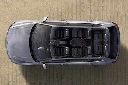 VW Tiguan Allspace AD Aussenansicht Draufsicht statisch blau