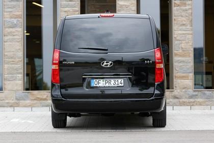 Hyundai H-1 Travel TQ Aussenansicht Heck statisch schwarz