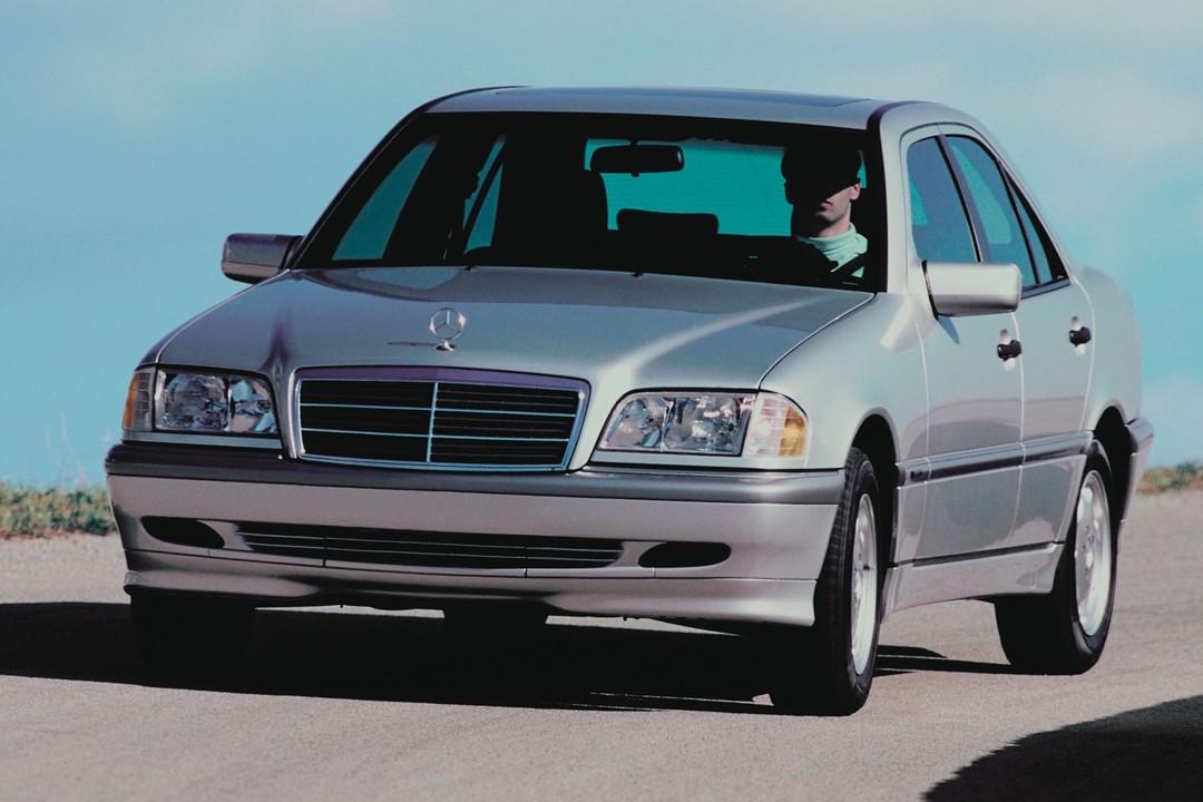 MERCEDES W202 C-Klasse Limousinen C 180 C 250 TD Prospekt von 1999