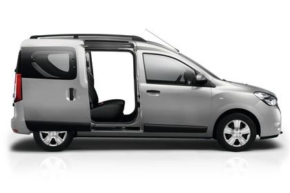 Dacia Dokker SD Aussenansicht Seite statisch Studio silber