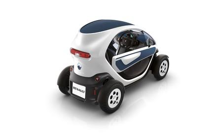 Renault Twizy Aussenansicht Heck schräg statisch Studio weiss