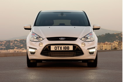 Ford S-Max I Facelift Aussenansicht Front statisch weiss