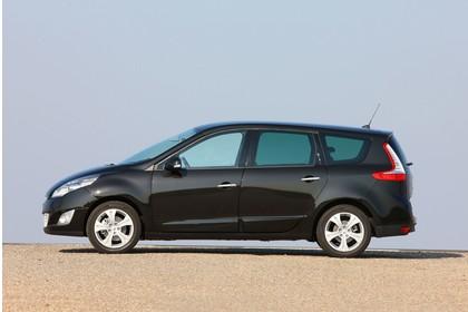 Renault Grand Scenic JZ Aussenansicht Seite statisch schwarz