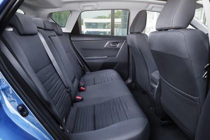 Toyota Auris Hybrid Schrägheck E18 Innenansicht statisch Rücksitze