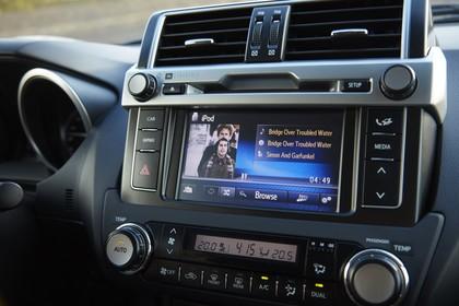 Toyota Land Cruiser J15 Innenansicht Detail statisch schwarz Entertainment