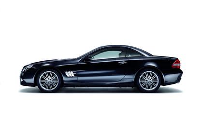 Mercedes SL R230 Studio Aussenansicht Seite statisch schwarz