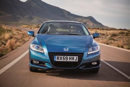 Honda CR-Z Aussenansicht Front dynamisch blau