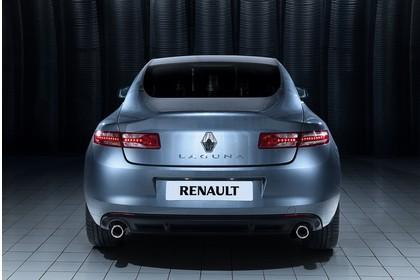 Renault Laguna Coupé T Aussenansicht Heck statisch blau