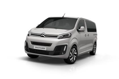 Citroën Spacetourer Aussenansicht Front schräg statisch Studio silber