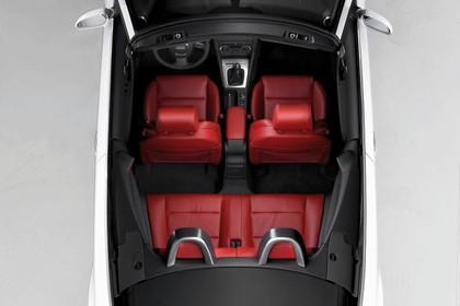 Audi A3 8P Cabrio Aussenansicht Vogelperspektive Studio statisch weiss
