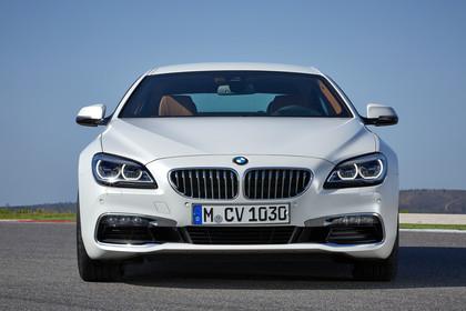 BMW 6er Gran Coupe F06 Aussenansicht Front statisch weiss