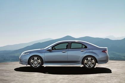 Honda Accord Limousine 8 Facelift Aussenansicht Seite statisch silber