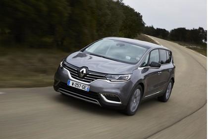 Renault Espace RFC Aussenansicht Front schräg dynamisch grau