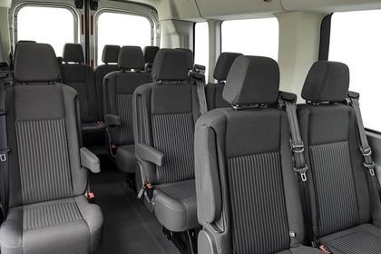 Ford Transit Kombi Mk7 Innenansicht statisch Studio Innenraum