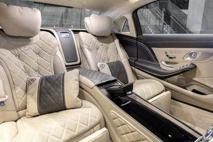 Mercedes Maybach S-Klasse X222 Innenansicht Rücksitzbank statisch beige