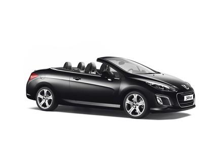 Peugeot 308 CC Aussenansicht Seite Studio statisch schwarz