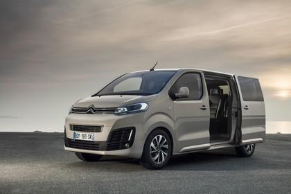 Citroën Spacetourer Aussenansicht Seite schräg statisch beige