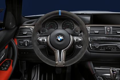 BMW M3 F80 Innenansicht Fahrerposition Studio statisch schwarz
