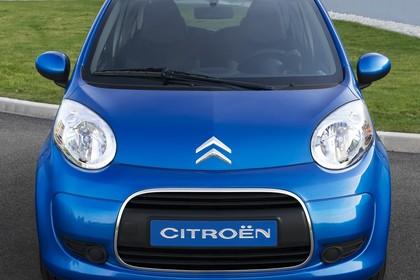 Citroën C1 Fünftürer P Aussenansicht Front statisch blau