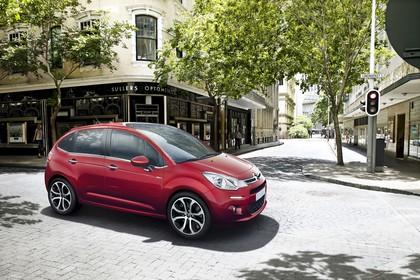 Citroën C3 S Aussenansicht Seite statisch rot