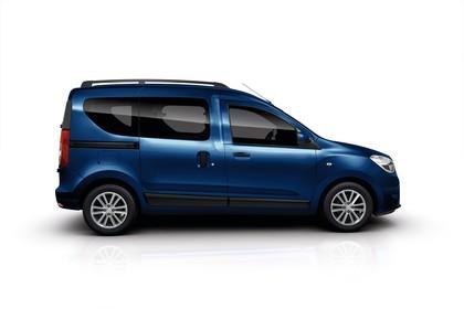 Dacia Dokker SD Aussenansicht Seite statisch Studio blau
