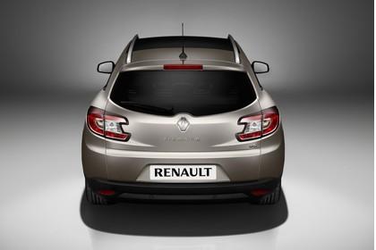 Renault Mégane Grandtourer Z Aussenansicht Heck statisch Studio braun