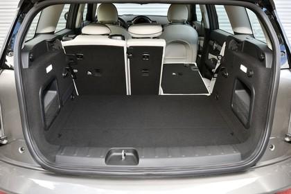 Mini Clubman F54 Innenansicht  Detail statisch schwarz Kofferraum