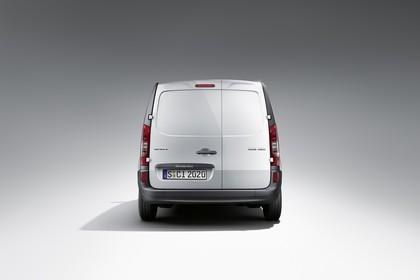 Mercedes-Benz Citan Kastenwagen W415 Aussenansicht Heck statisch Studio silber