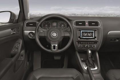 VW Jetta 6 Innenansicht Fahrerposition statisch schwarz