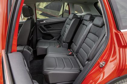 VW Tiguan 2 Innenansicht Rücksitzbank statisch schwarz
