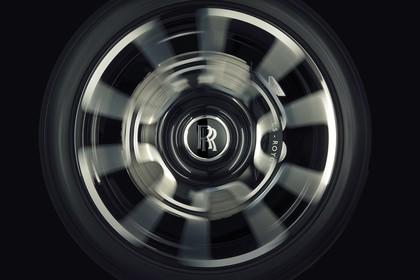 Rolls-Royce Dawn Aussenansicht Seite dynamisch Detail Rad