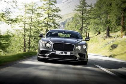 Bentley Continental Supersports Aussenansicht Front dynamisch grau