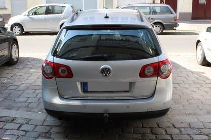 VW Passat Variant B6 Aussenansicht Heck statisch silber