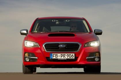 Subaru Levorg Aussenansicht Front statisch rot