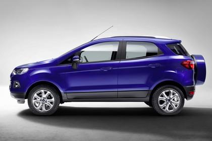 Ford EcoSport B515 Seite statisch studio blau