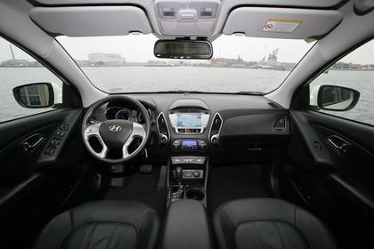 Hyundai ix35 Fuel Cell EL Innenansicht statisch schwarz
