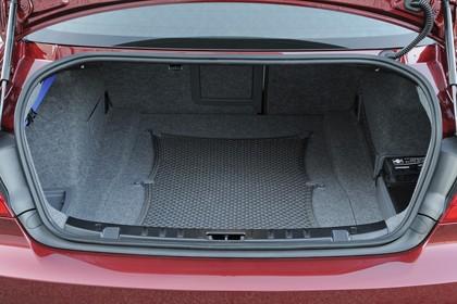 BMW 3er Coupé E92 LCI Innenansicht statisch Kofferraum