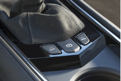 Cadillac ATS Limousine Innenansicht statisch Detail Fahrmodusselektor