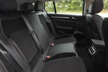 Renault Mégane Grandtour IV Innenansicht statisch Rücksitze beifahrerseitig