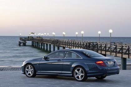 Mercedes CL C216 Aussenansicht Seite schräg statisch blau