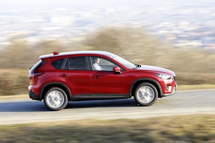 Mazda CX-5 KE Aussenansicht Seite dynamisch rot