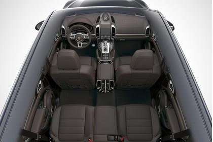 Porsche Cayenne 92A Innenansicht statisch Studio Innenraum