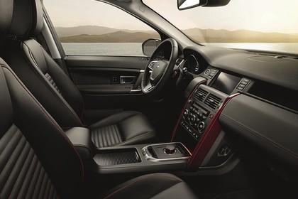 Land Rover Discovery Sport L550 Innenansicht Beifahrerposition statisch schwarz