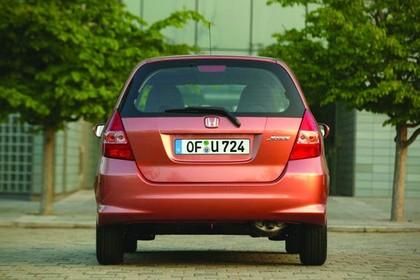 Honda Jazz GE Aussenansicht Heck statisch kupfer
